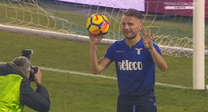 Serie A, Lazio a valanga: 5-2 alla Spal, Immobile ne fa quattro