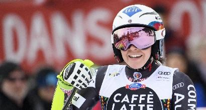 Sci: Weirather brilla nel superG, Brignone quarta
