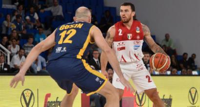 Basket, Milano vince la Supercoppa: battuta Torino 82-71