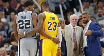 Nba: LeBron James non basta, Lakers battuti dagli Spurs
