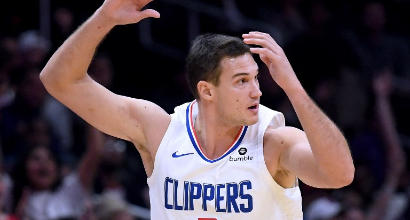 Nba: super Gallinari trascina i Clippers contro i Mavs
