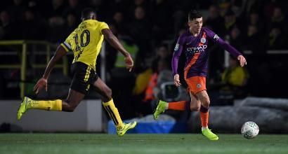 Coppa di Lega, Burton Albion-Manchester City 0-1: basta Aguero