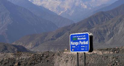 Nanga Parbat, primati e pareti