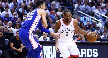 Nba, playoff: Toronto travolge Philadelphia, tutto facile per Denver