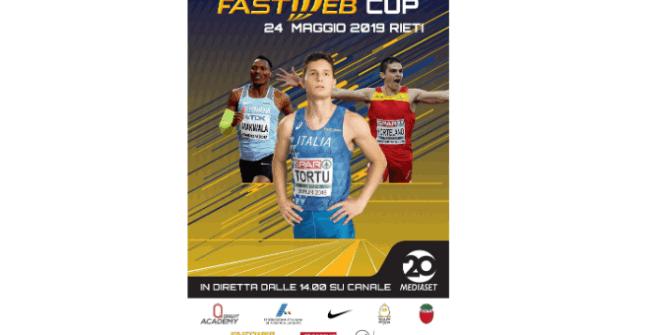 Atletica, la Fastweb Cup a Rieti su Canale 20 e Sportmediaset.it