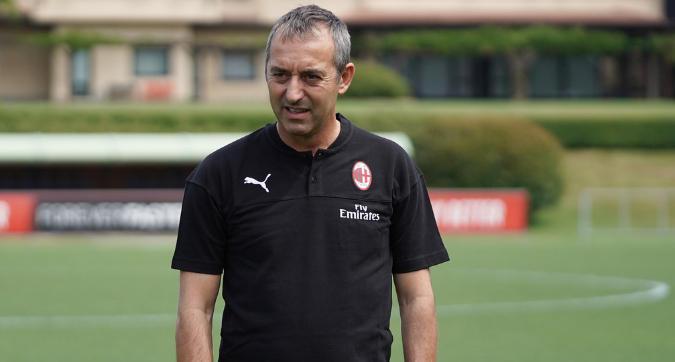 Giampaolo si gode Milanello: