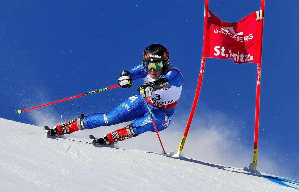 Le immagini della gara che ha regalato la medaglia di bronzo all'azzurra Sofia Goggia nel gigante femminile ai Mondiali di St. Moritz