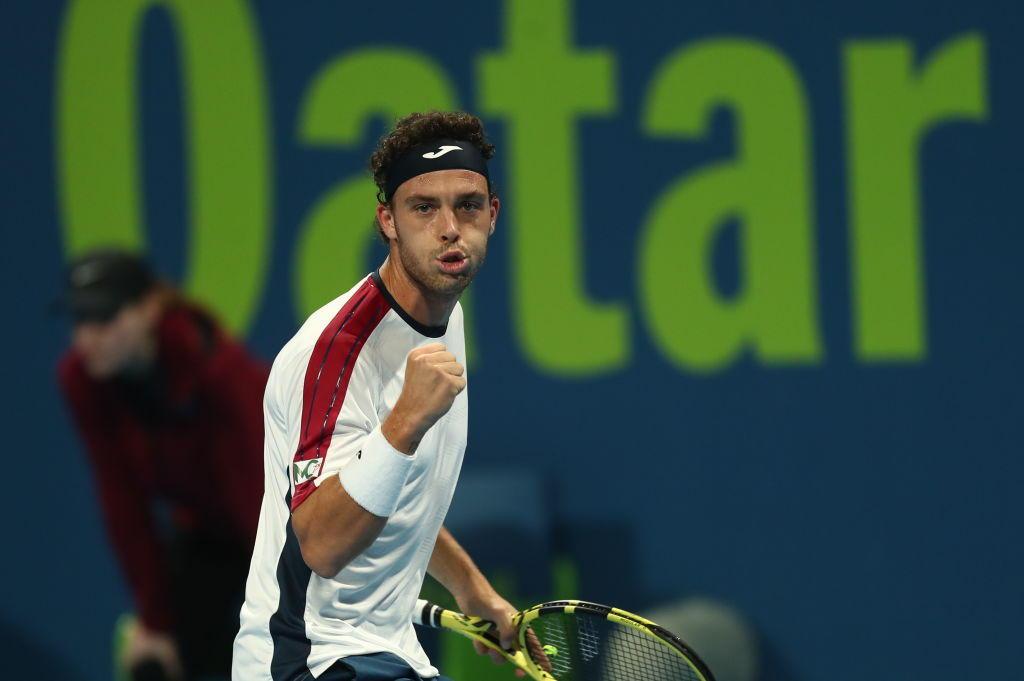 Tennis, Djokovic e Cecchinato ko a Doha