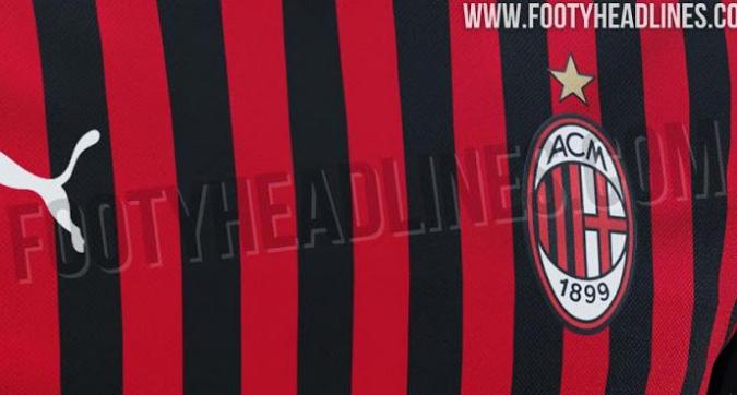 Milan, ecco la nuova maglia: Puma punta sulle strisce sottili