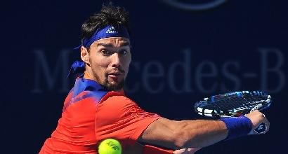Tennis, Vienna: Fognini vola ai quarti in due set