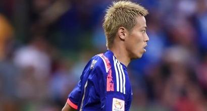 Keisuke Honda, foto Afp
