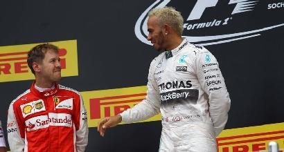 Vettel e Hamilton (IPP)