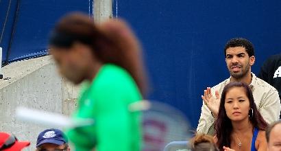 Drake osserva Serena, AFP