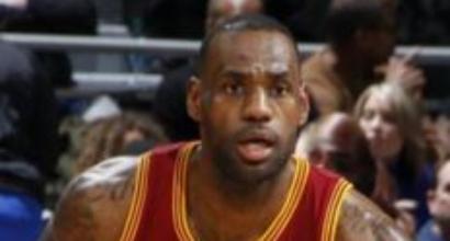 Nba: Cleveland non sbaglia, Lebron James a quota 26mila