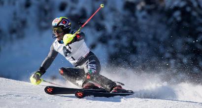 Slalom Kitzbuehel: vince Hirscher