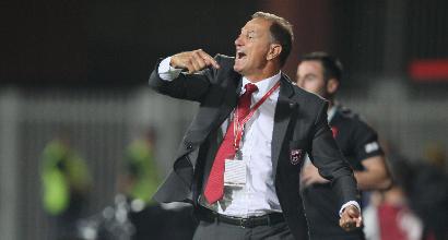 """Albania, De Biasi: """"Per battere l'Italia dovremo dare il 110%"""""""