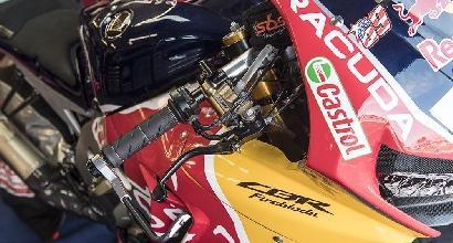 Superbike, Giugliano sulla Honda di Hayden