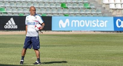 """Under 21, Di Biagio: """"Lo 0-3 con la Spagna ci servirà a crescere"""""""