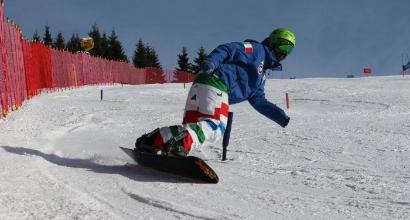 Paralimpiadi 2018, snowboard: Pozzerle a caccia del trionfo - GUARDA CHE CAMPIONE: IL VIDEO