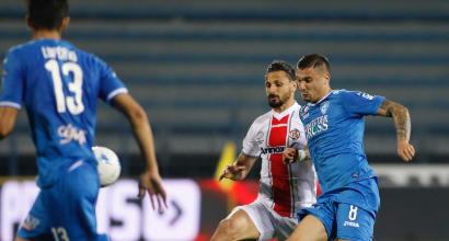 Serie B: Empoli-Cremonese 1-1
