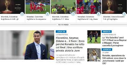 Sportmediaset.it, nuovi numeri record: superati i due milioni di lettori