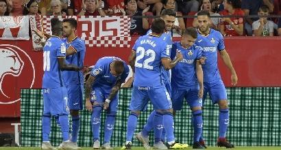 Liga, 3a giornata: Siviglia ko in casa col Getafe, Bacca lancia il Villarreal