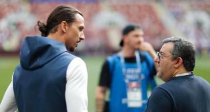 Calciomercato, Ibrahimovic: