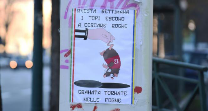 Derby della Mole, alta tensione: a Torino manifesti offensivi contro i granata