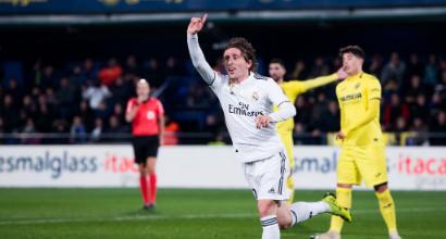 Liga: Cazorla rovina la festa del Real Madrid, con il Villarreal è soltanto 2-2