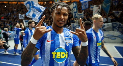 Napoli in pressing su Lazaro, esterno dell'Hertha Berlino