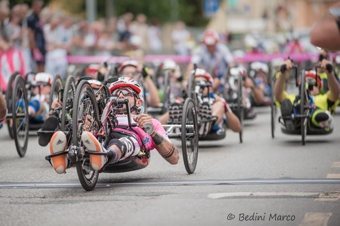 Giro d'Italia Handbike 2018, quinta tappa a Castagneto Carducci: le foto