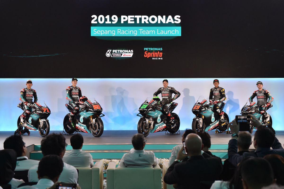 MotoGP, ecco la Yamaha di Morbidelli