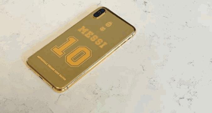 L'ultimo regalo per Messi: un cellulare d'oro da 4.000 euro