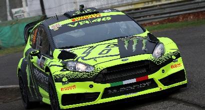 Monza Rally Show: Rossi batte Neuville, beffa per Cairoli