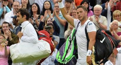 Wimbledon: Knapp fuori, ma domina la pioggia