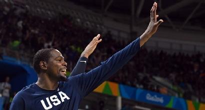 Rio 2016, basket: Durant smonta la Serbia, oro agli Stati Uniti