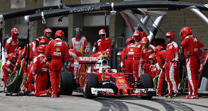 """F1 a Austin, Vettel: """"Non siamo contenti"""""""