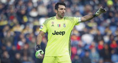Juve, Buffon punge l'Inter