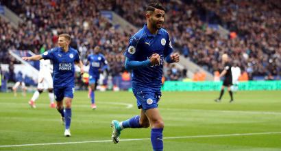 Roma, è Mahrez il sostituto di Salah: si tratta col Leicester