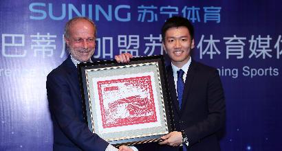 La tv cinese critica Suning per aver preso l'Inter. La replica