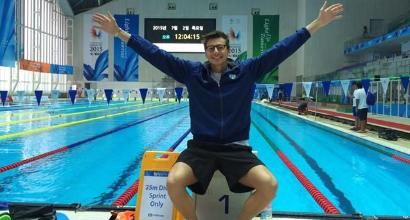 Nuoto, Dall'Aglio morto in palestra