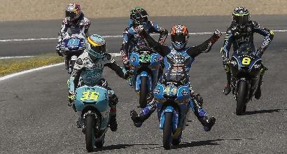 Moto3, Canet vince su Bastianini e Martin a Silverstone