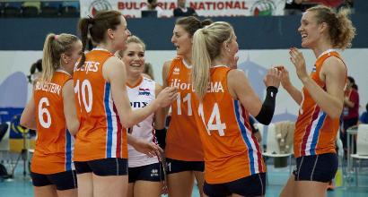 Volley, Europei: Olanda troppo forte, Italia fuori ai quarti