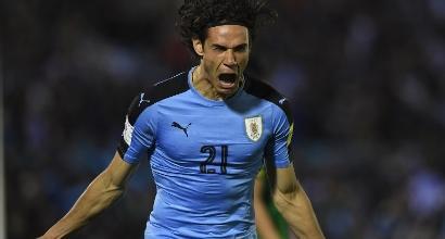 Uruguay di misura: Cavani regala la China Cup