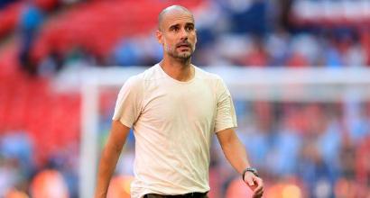 """Manchester City, Guardiola: """"Mercato? L'anno prossimo, ora non c'erano soldi"""""""