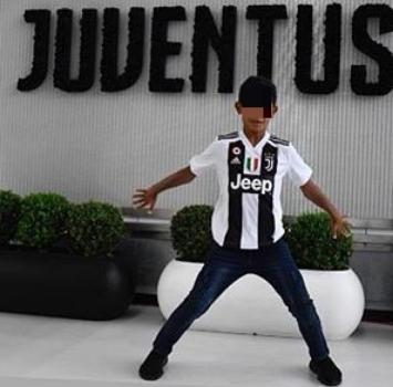 Juventus, preso Cristiano Ronaldo jr: giocherà nei pulcini