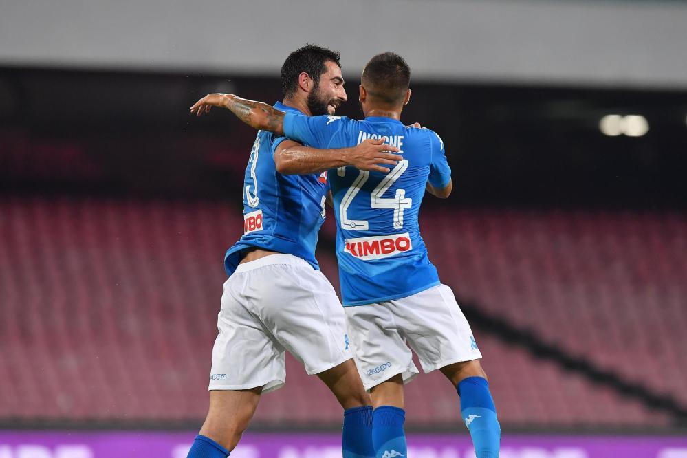 Napoli-Espanyol 2-0, le foto del match