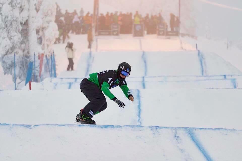 Paralimpiadi 2018, Luchini sullo snowboard senza mano: le sue foto