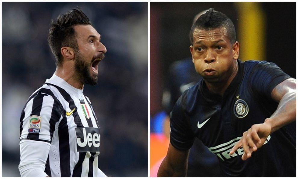 Vucinic-Guarin: il mancato scambio tra Juve e Inter è il caso più eclatante del mercato di gennaio del 2014