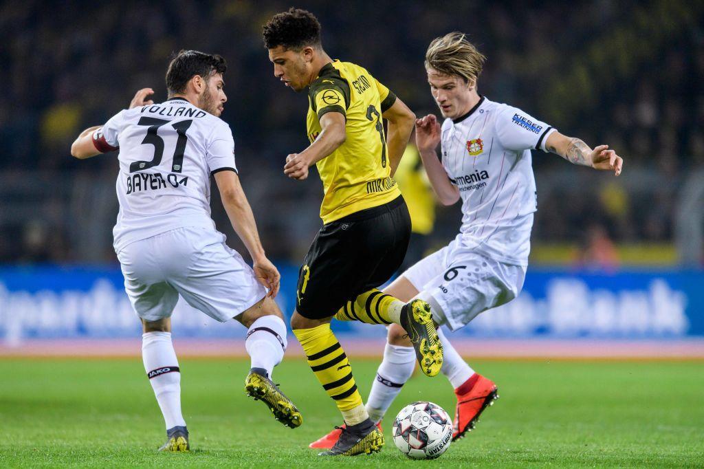 6) Jadon Sancho (Borussia Dortmund): un dribbling ogni 24.1 minuti, percentuale di realizzazione del 61%